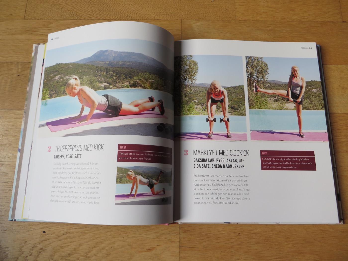 Inspirerande träningsbok