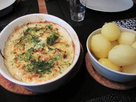 Fisk och potatis