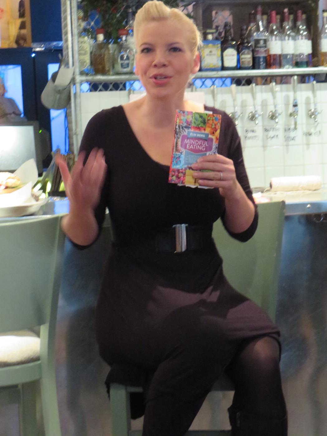 Elin Borg - författare till boken Mindful Eating