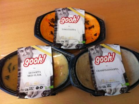 Soppor från Gooh