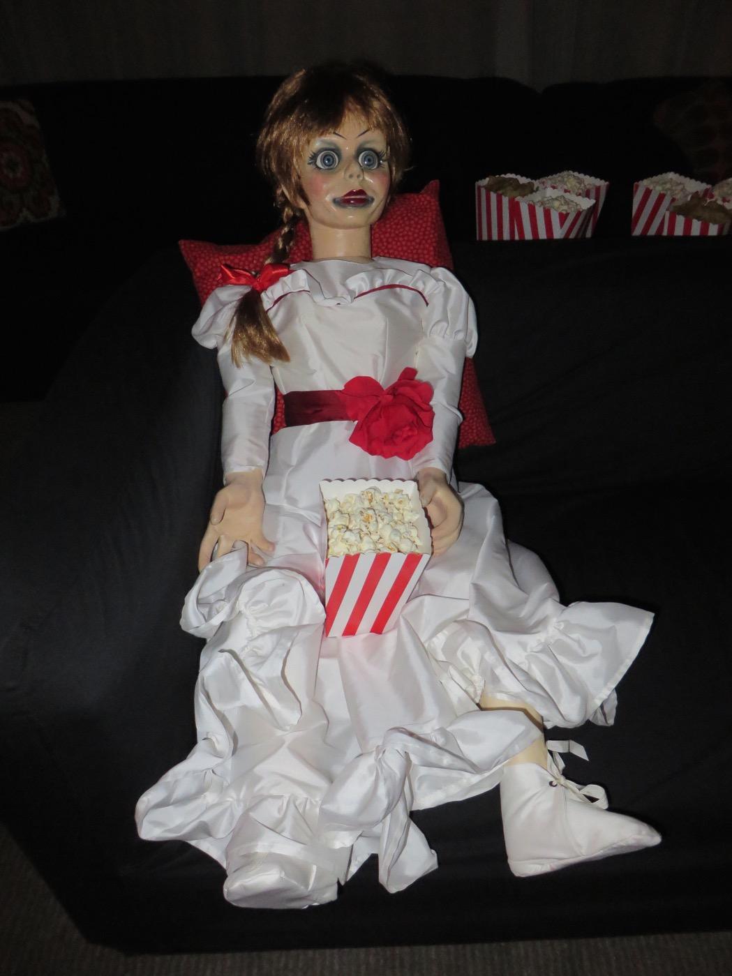 Dockan Annabelle var på plats