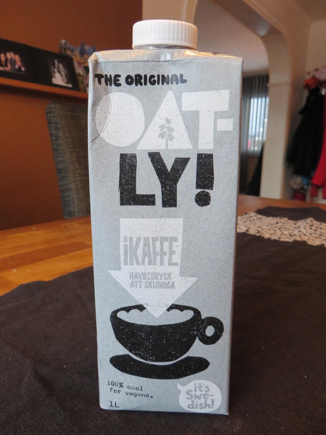Sojamjölk i kaffe