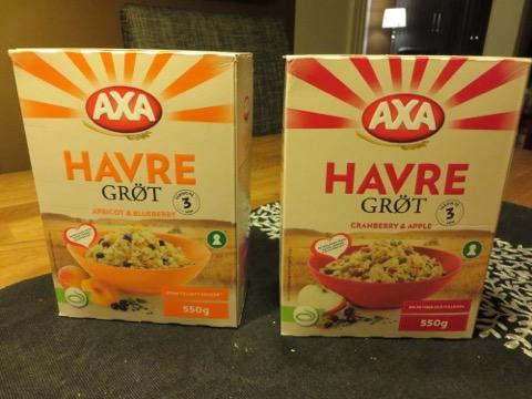 Nya grötsorter från Axa