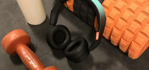 Plantronics trådlösa sporthörlurar BackBeat Fit 500