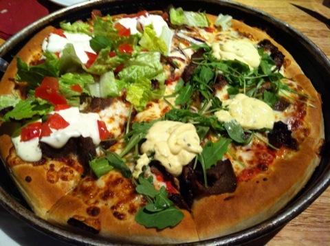 Pizza från Pizza Hut