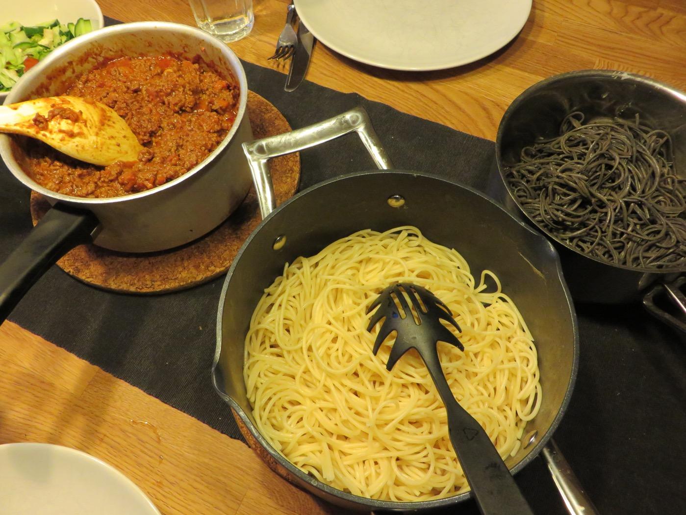 Bolognese och pasta