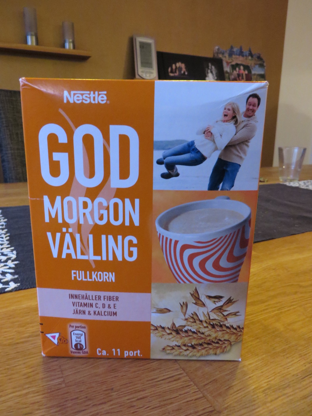 God morgon-välling från Nestlé