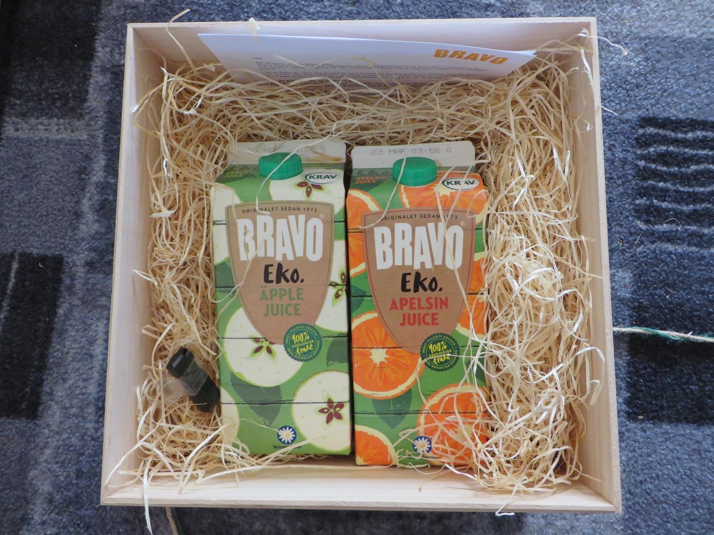 Nya ekologiska juicer från Bravo