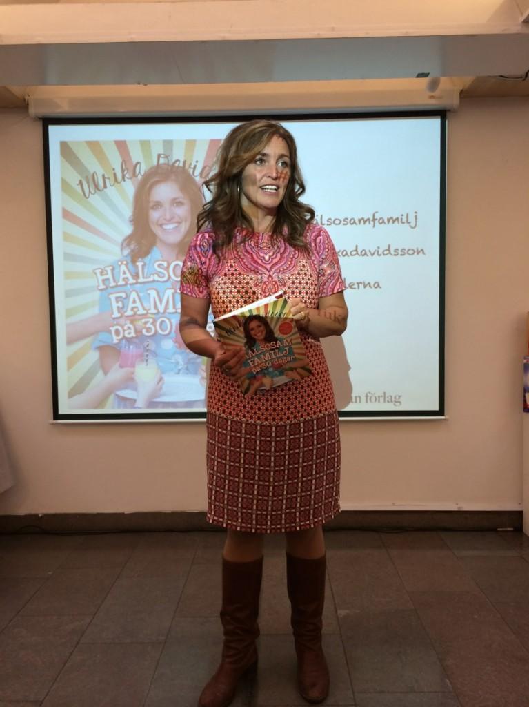 Ulrika Davidsson om att få familjen att leva mer hälsosamt