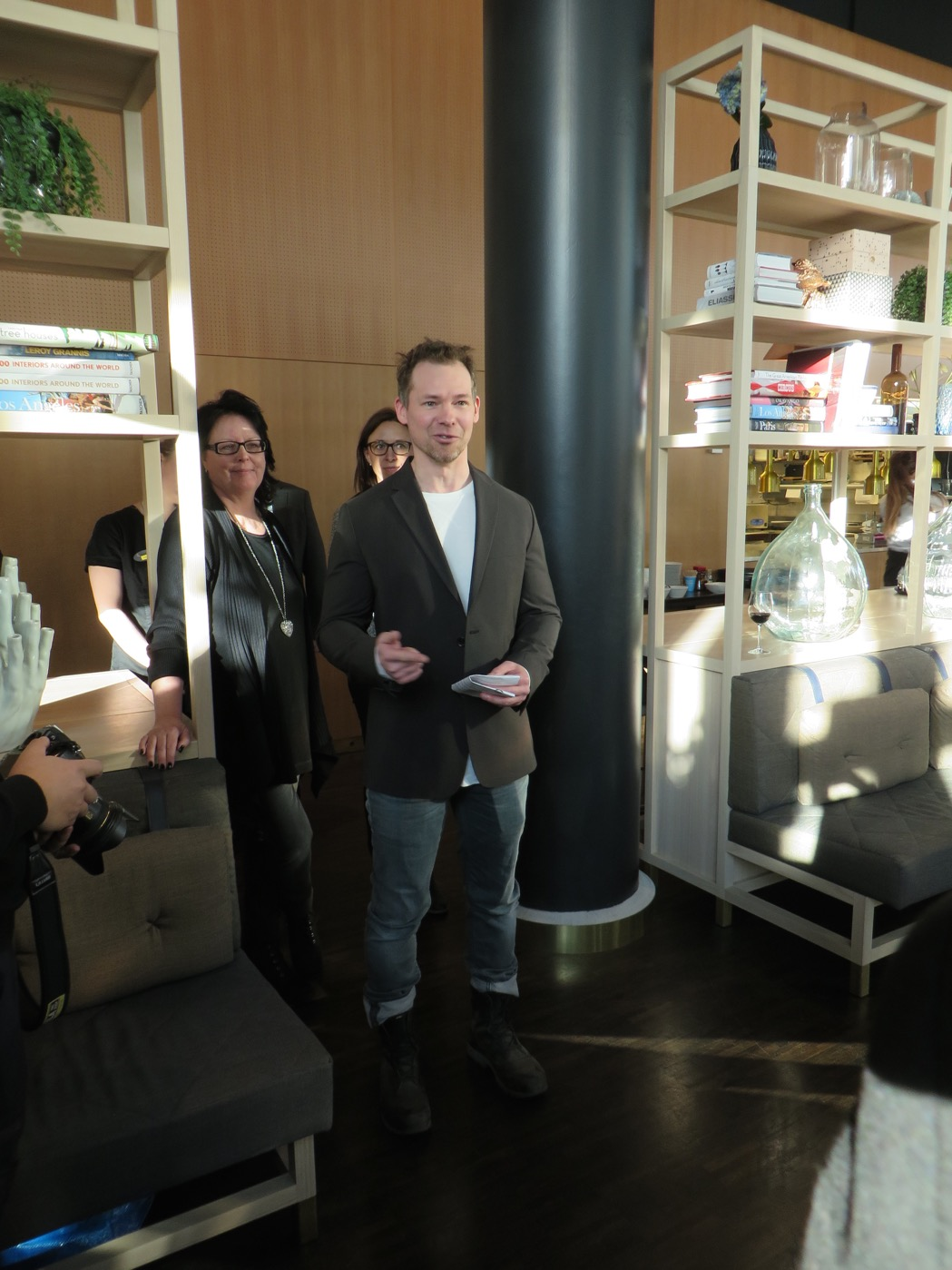 Arrangör Daniel Golabiewski för Glassfestivalen
