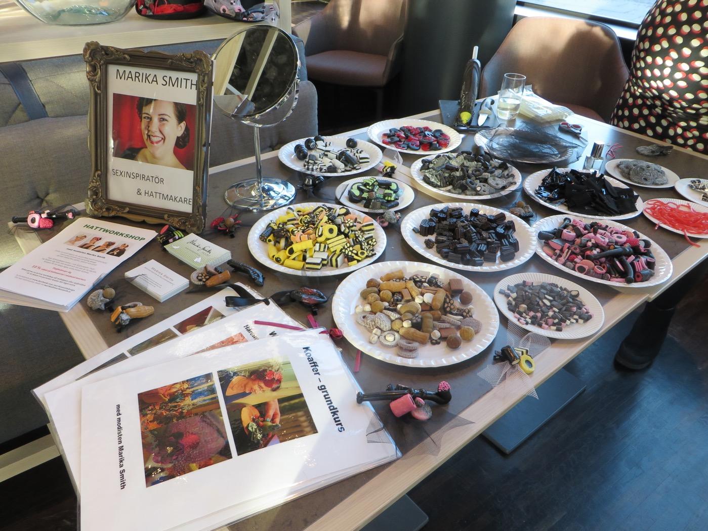 Hatt- och smyckestillverkning av Marika Smith