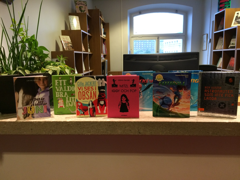 Nya barnböcker från Rabén & Sjögren