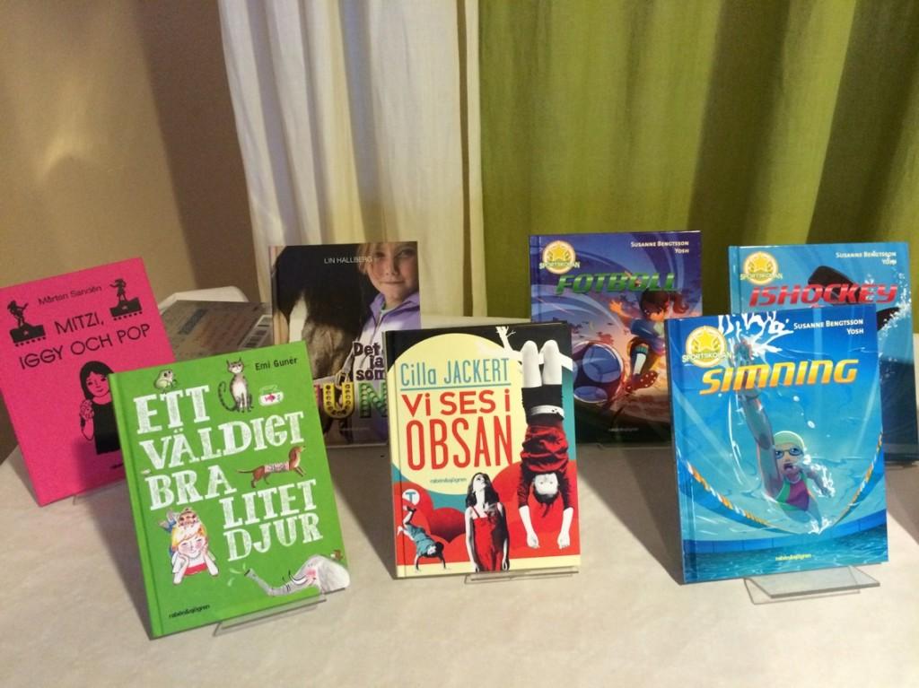 Böcker för barnslukaråldern