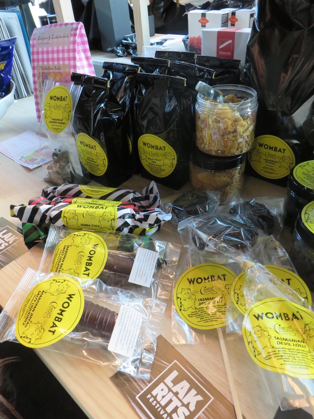 Världspremiär för varumärket Wombat candies