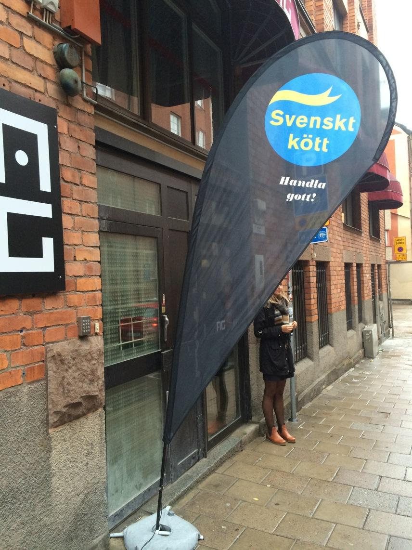 Svenskt kött på Restaurang AG