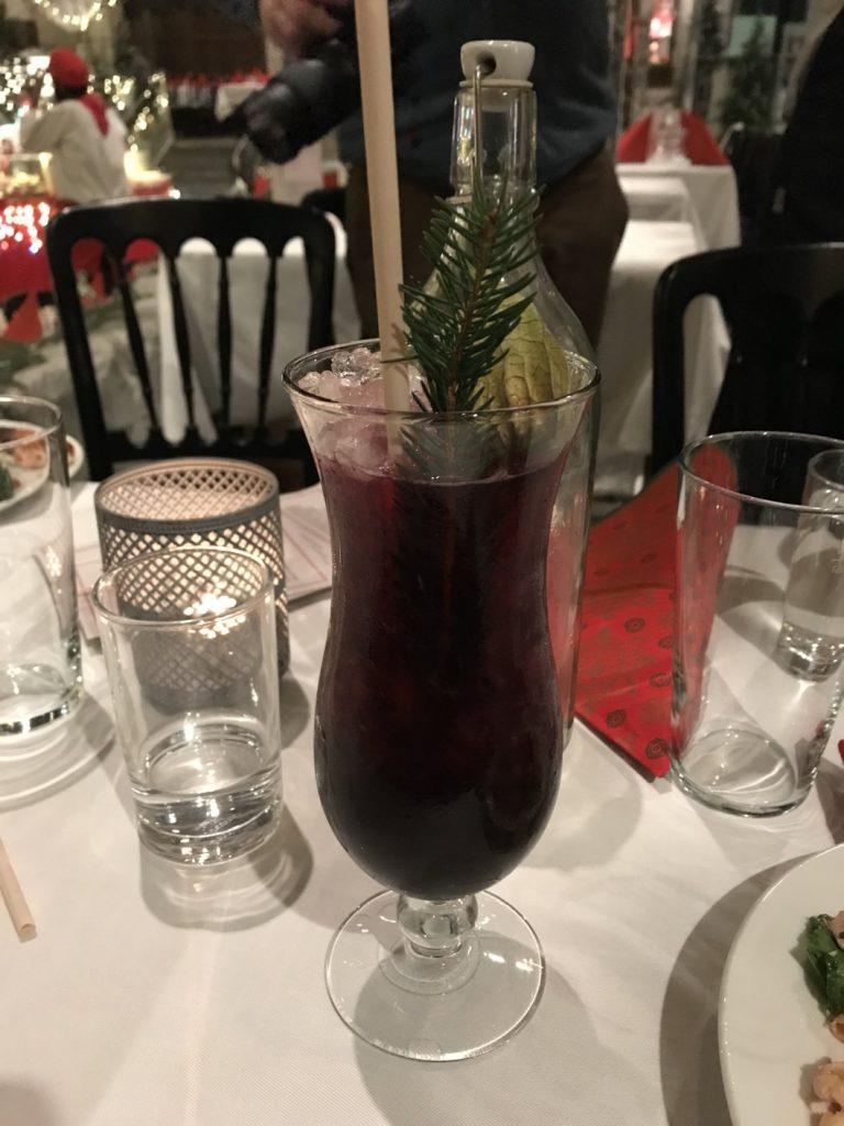 Min personliga favorit drink - Blåbär & Spice.