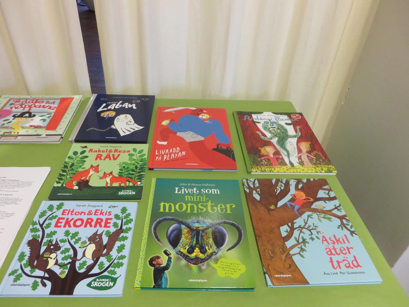 Vårens nya böcker för barn 6-9 år från Raben & Sjögren