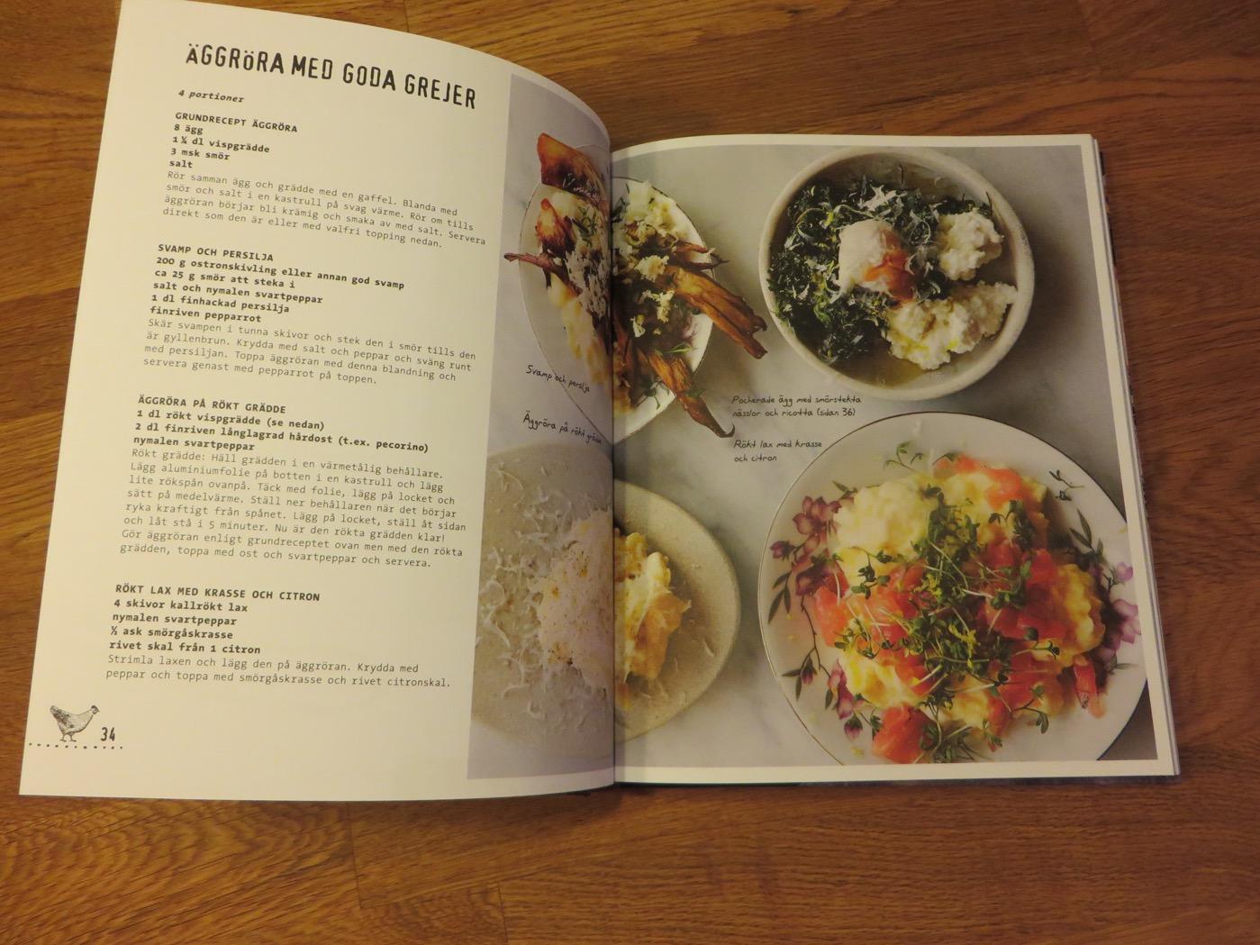 Recept utifrån hönshuset