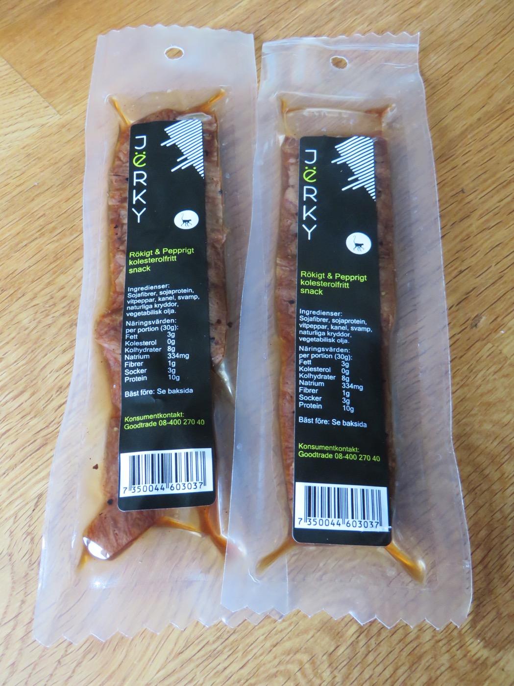 Underbart gott snacks - Jërky