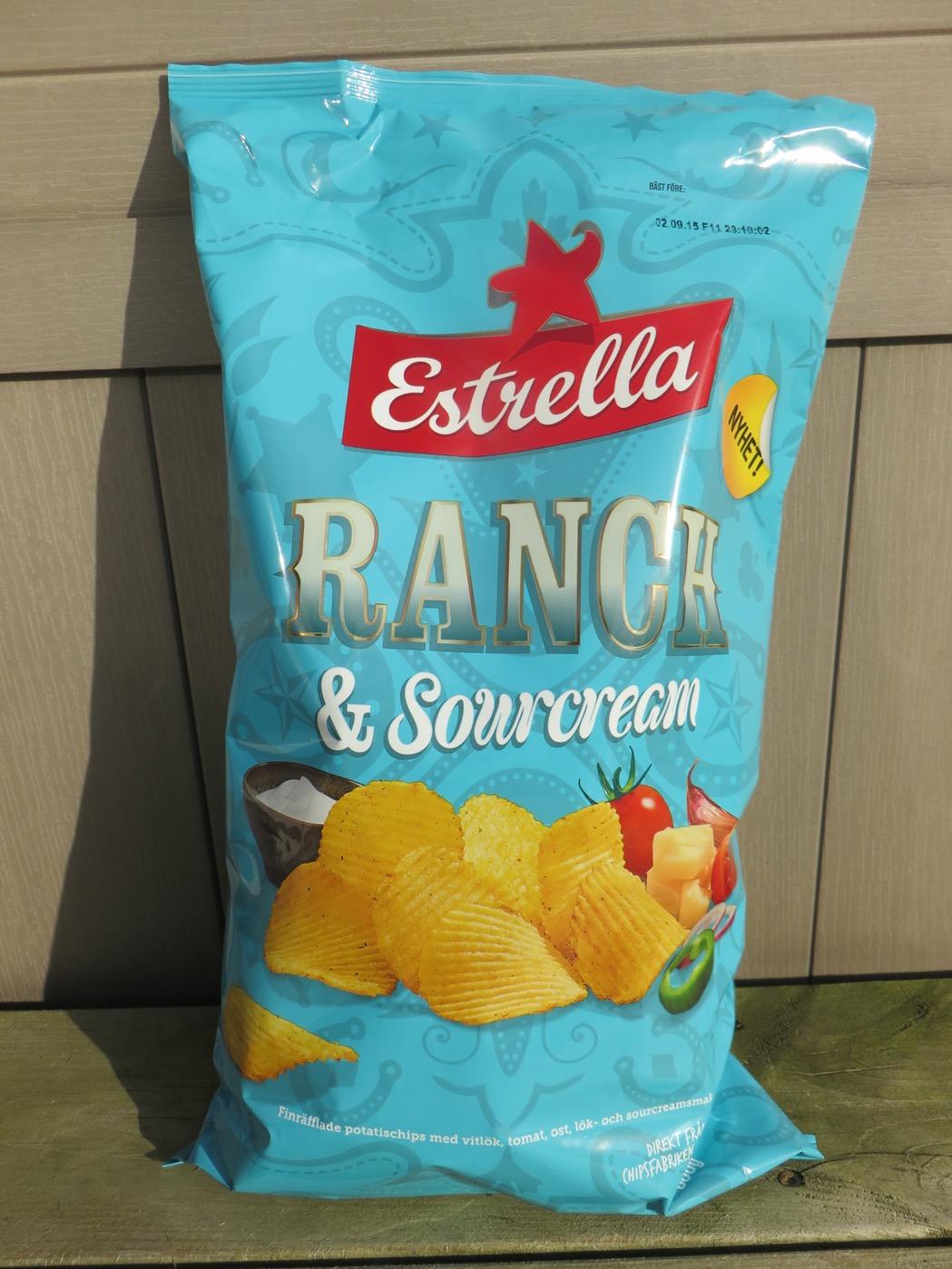 Relansering av den tillfälliga smaken Ranch & Sourcream.