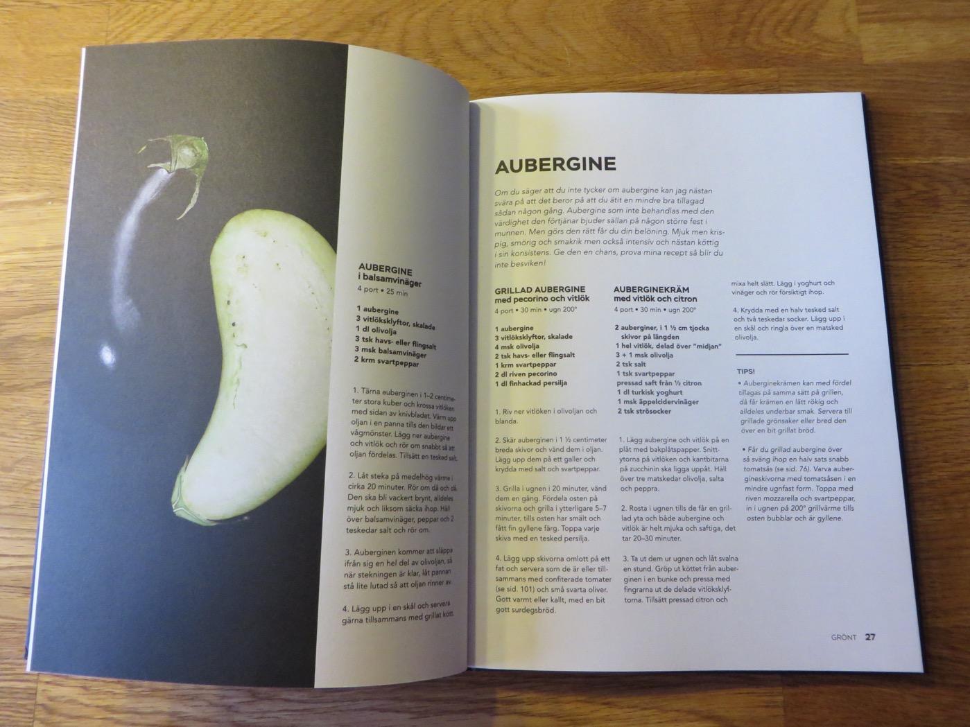 Spännande recept med Aubergine.