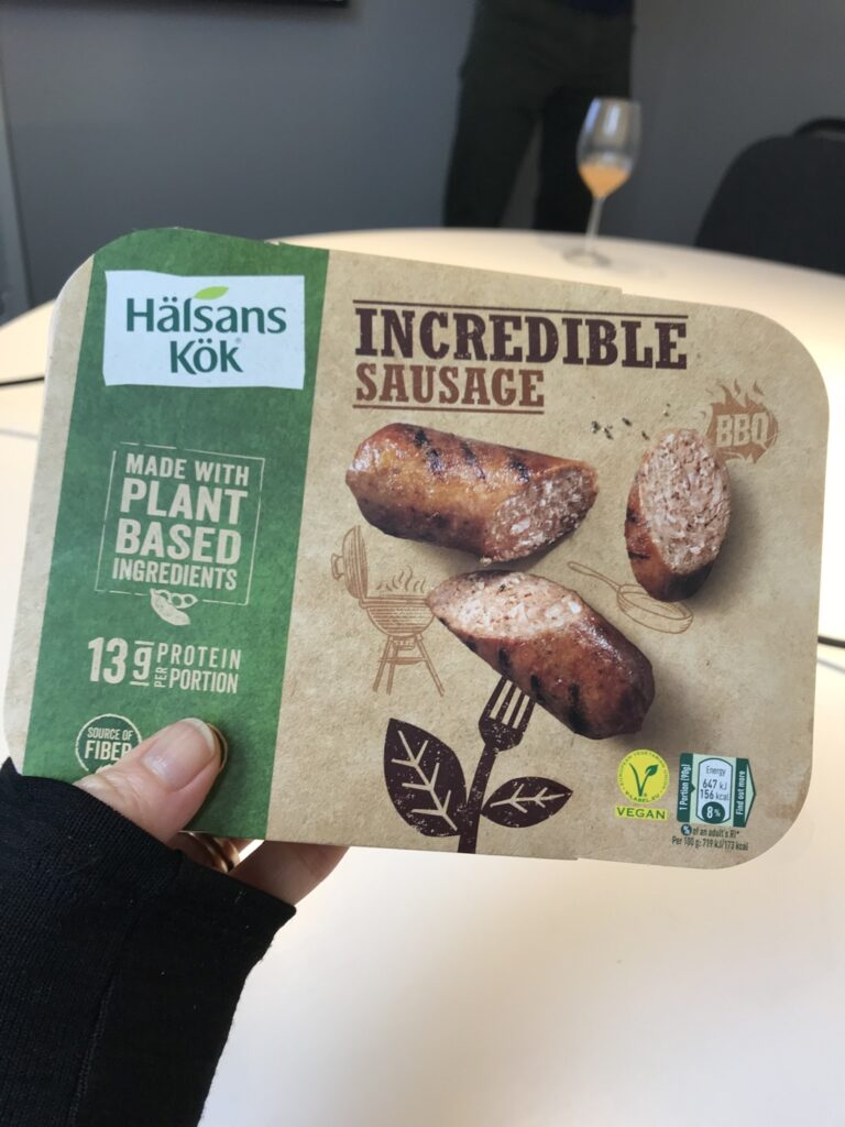 Incredible Sausage från Hälsans Kök