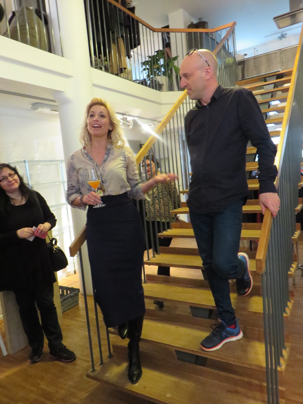 Tina Nordström och hennes sidekick Benny Cederberg berättar om kvällen.