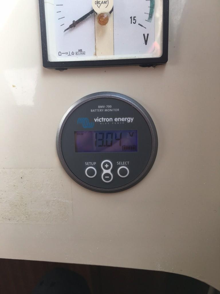 Victron batterimonitor