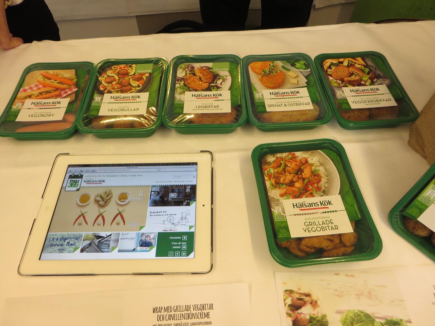 Goda vegetariska rätter hos Hälsans Kök!