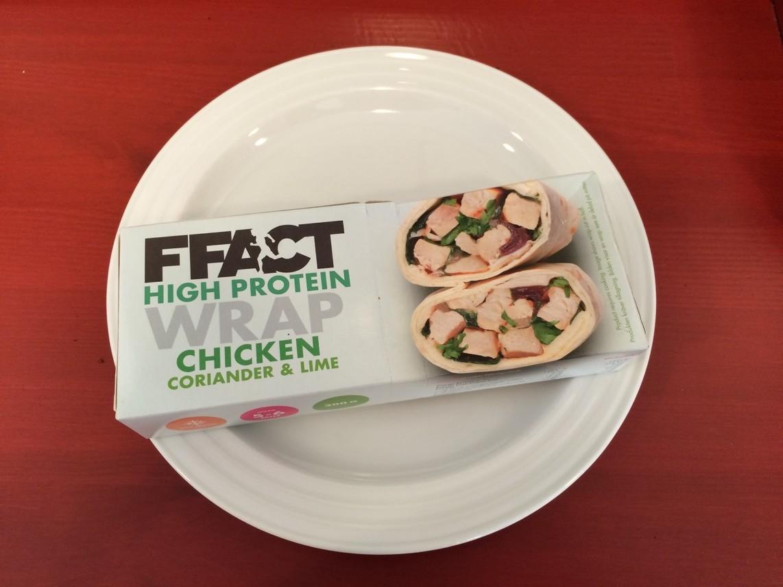 FFACT chicken wrap - värm, ät och njut!