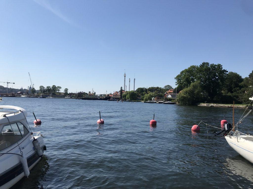 Fin utsikt mot Gröna Lund.