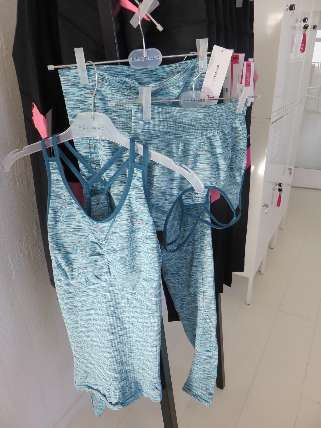 Riktigt snygga och sköna träningskläder!
