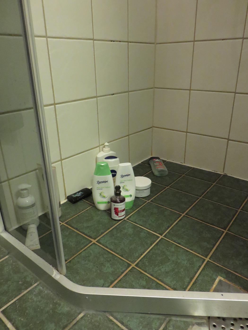 Bara att använda efter schampo och balsam är ursköljt.
