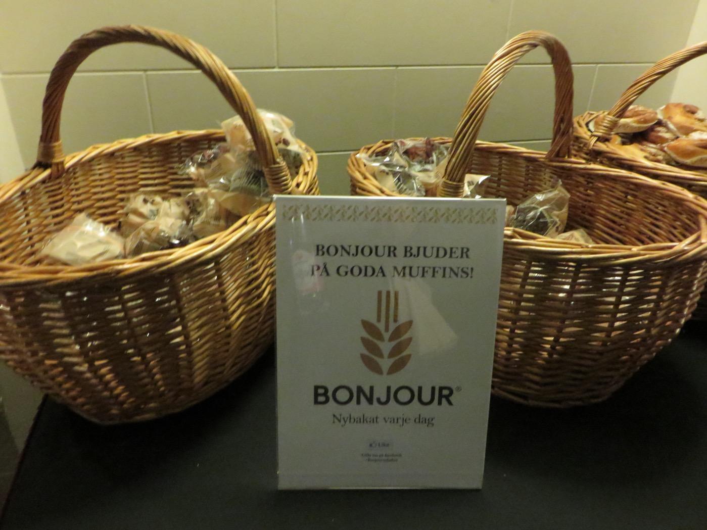 Muffins från Bonjour.