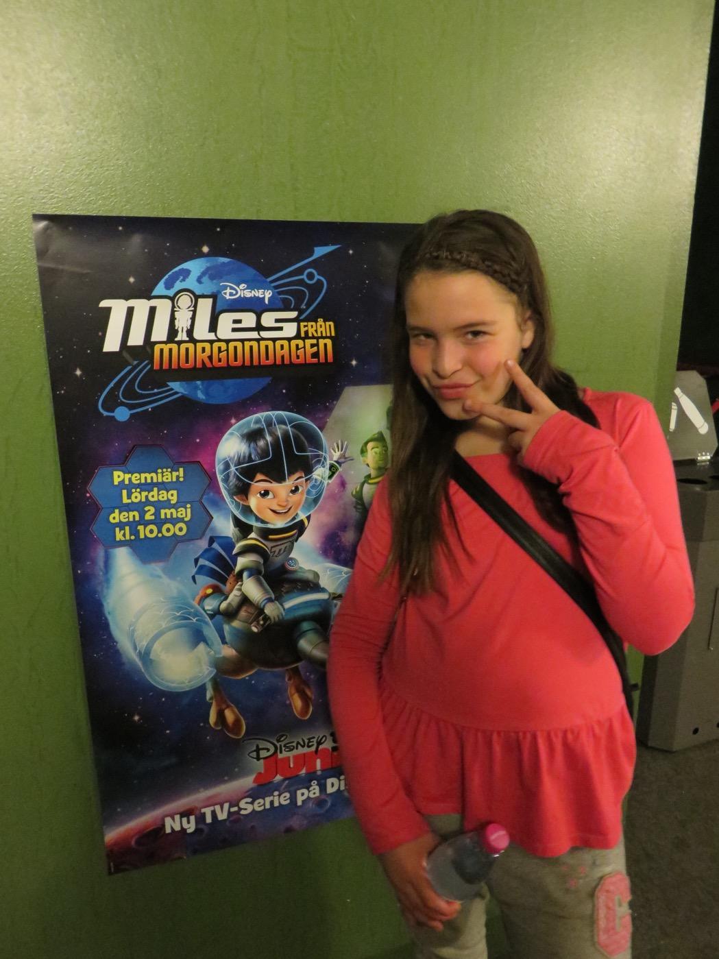 Miles från Morgondagen - ny serie på Disney Junior.