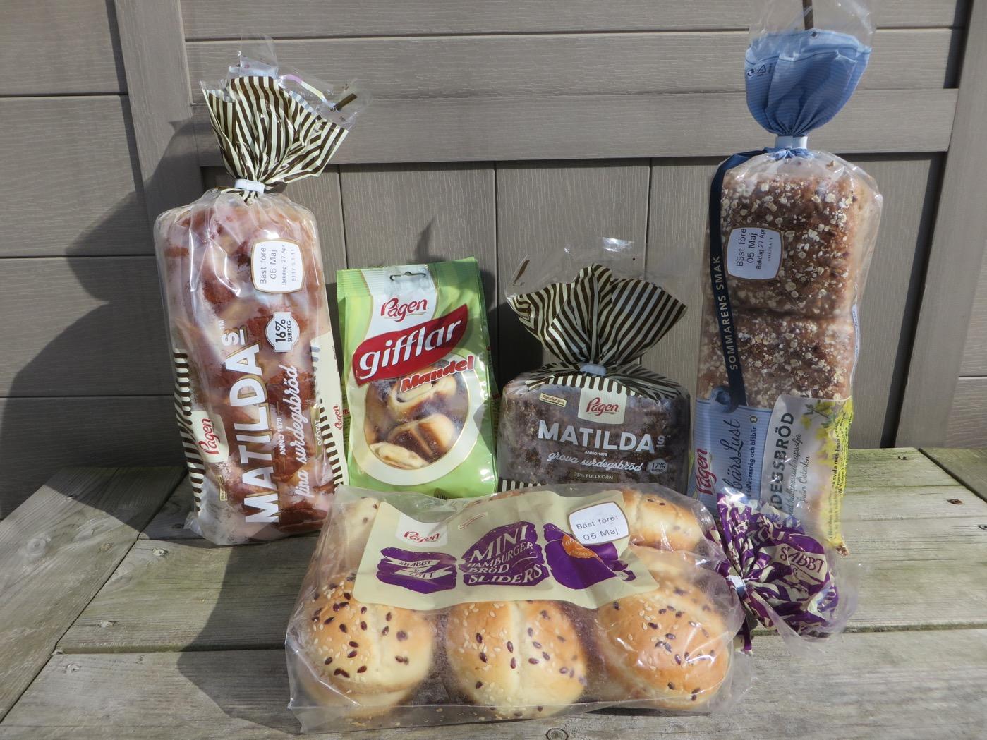 Mjukt bröd från Pågens.