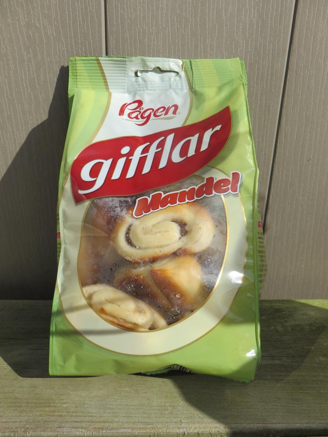 Pågen Gifflar Mandel - en picknickfavorit.