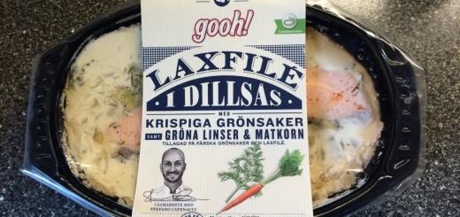 Laxfilé i dillsås från Gooh.