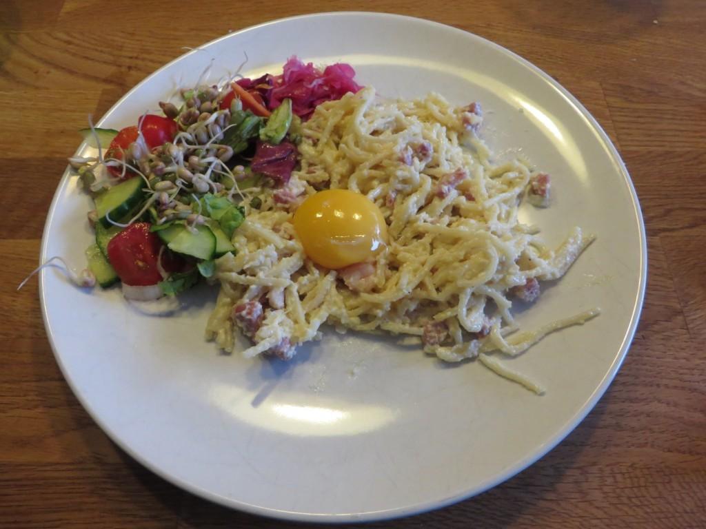 God krämig pasta som förgyller vilken vardag som helst!