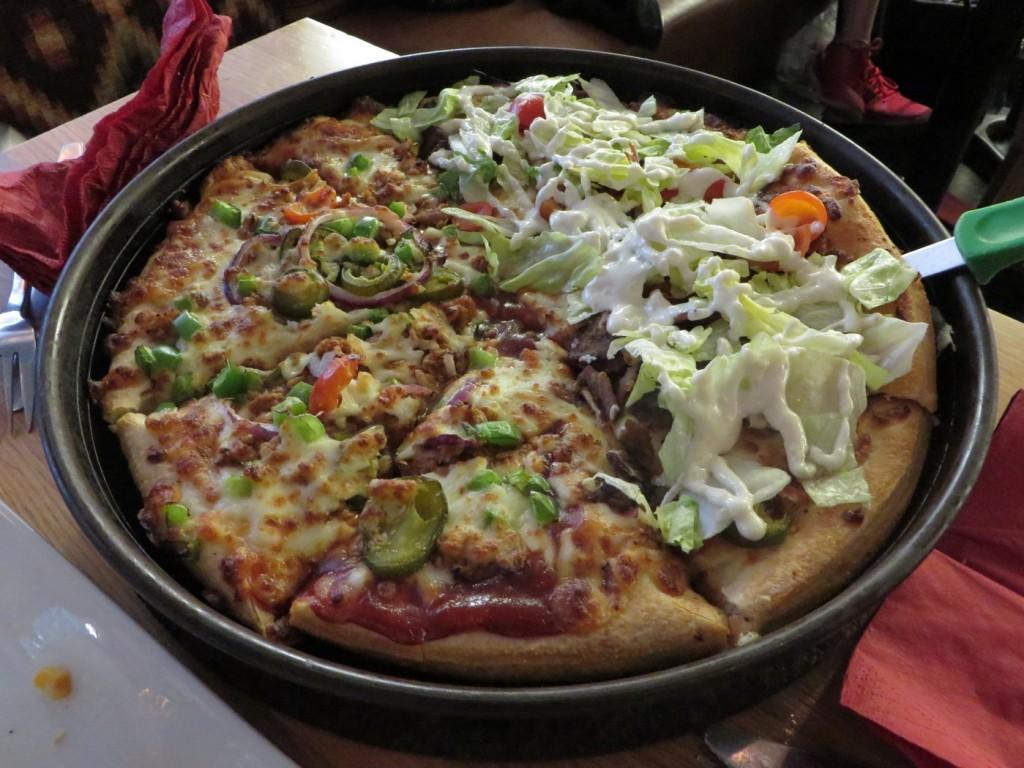 Kebab och Pulled BBQ-pizza