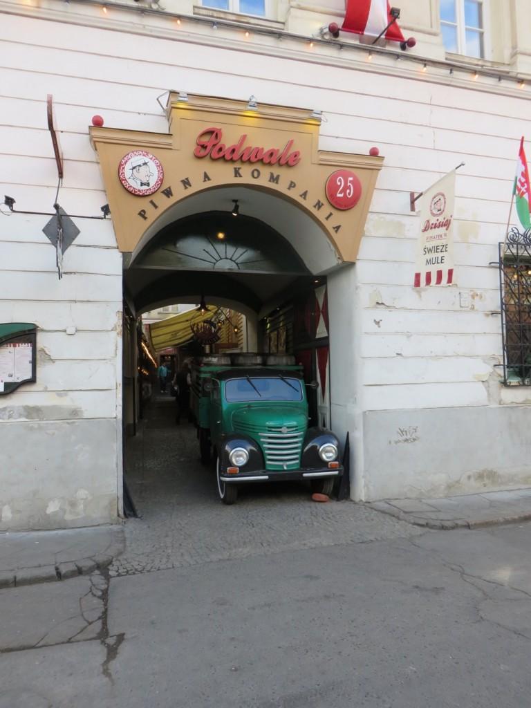 Restaurang Podwale piwna kompania