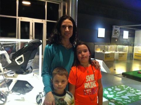Jag och barnen på Tekniska Museet