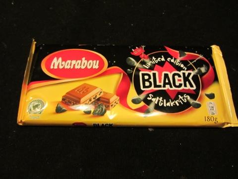 Marabou black