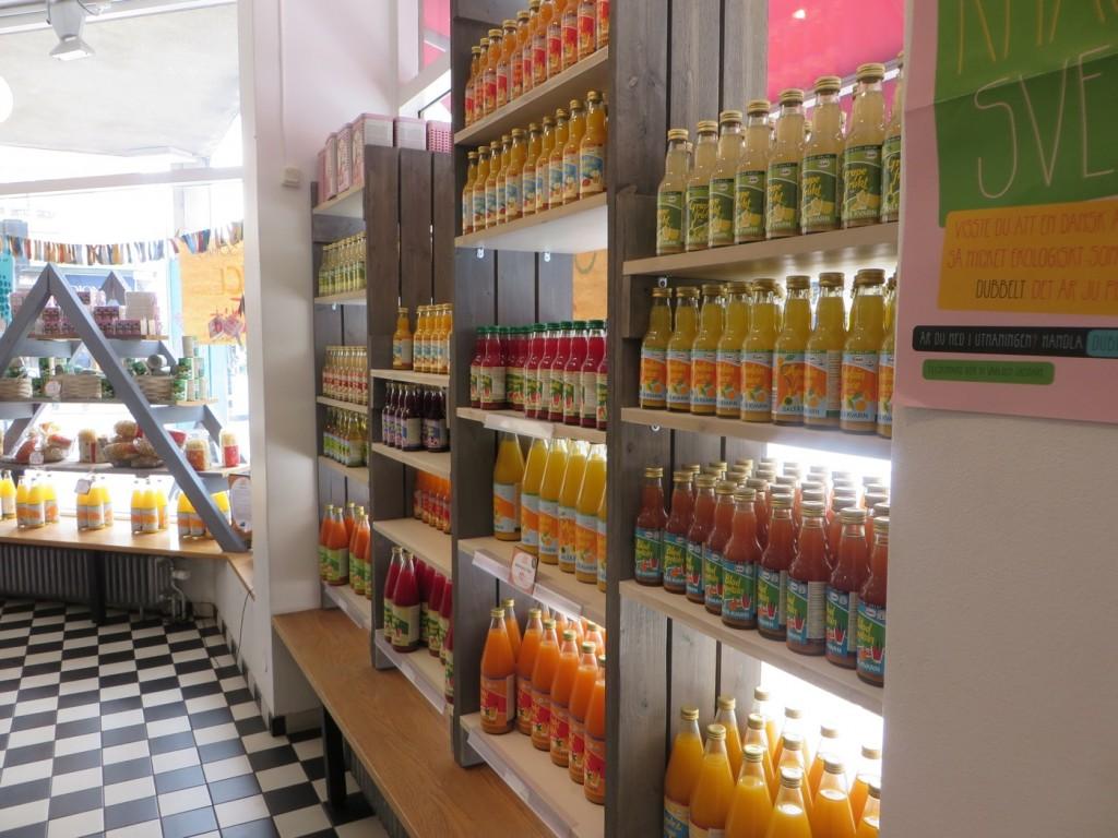 Juicer på rad