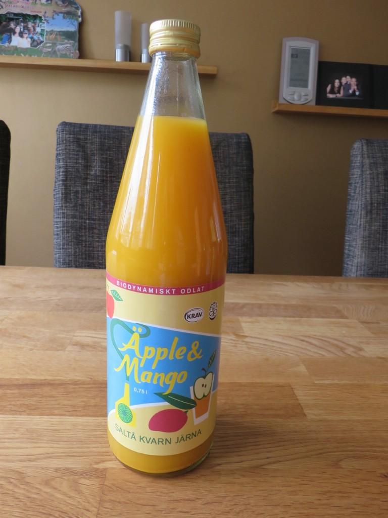 Äppel- och mangojuice