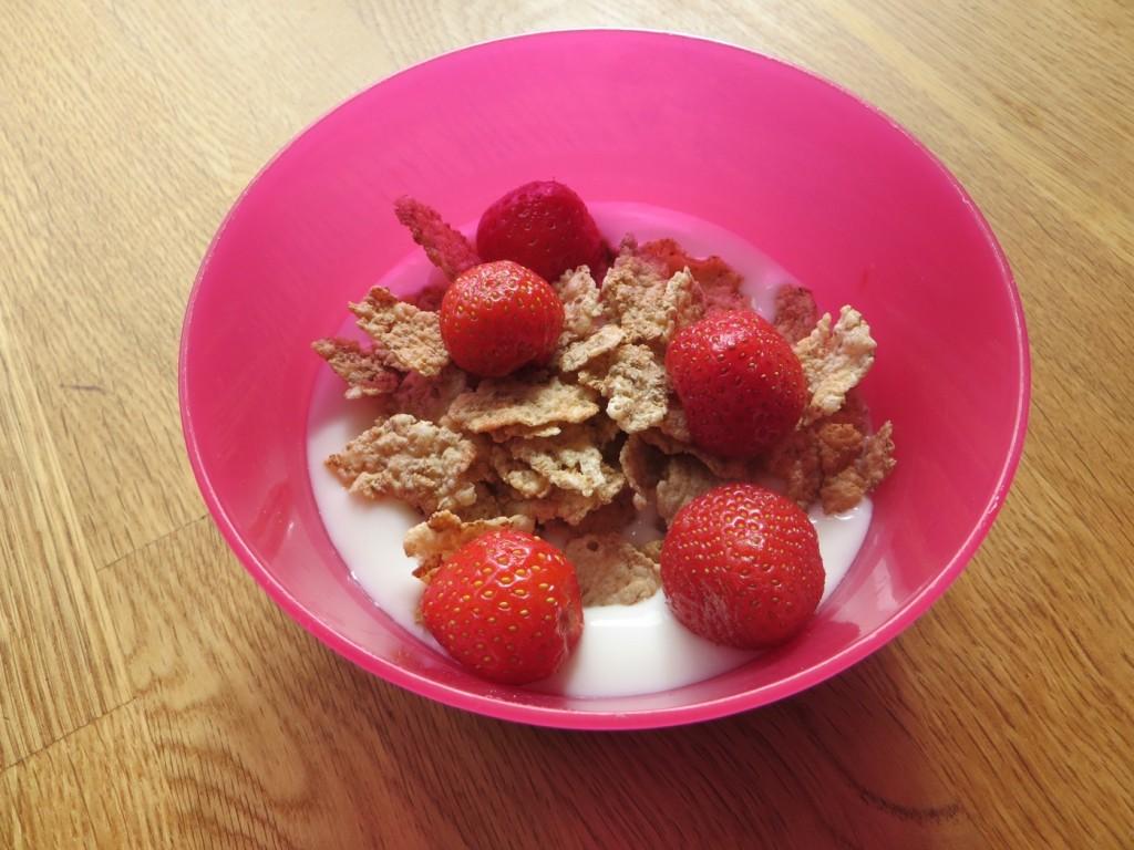 Fräsch och god frukost eller mellanmål