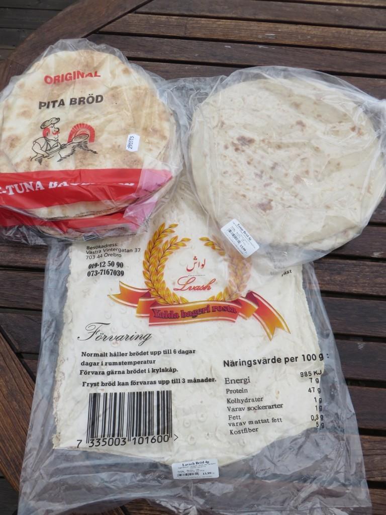 Orientaliska brödsorter