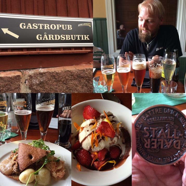 Kombinera god öl och mat på Pub Niska.