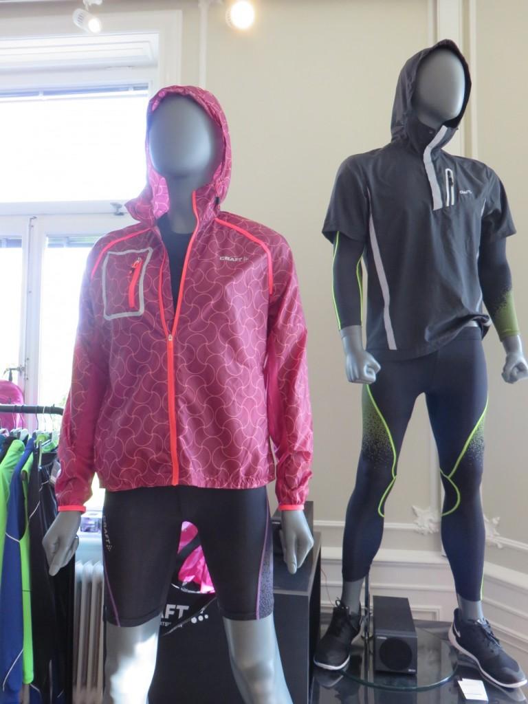 Mycket snyggt i höst och vinter hos Craft Sportswear