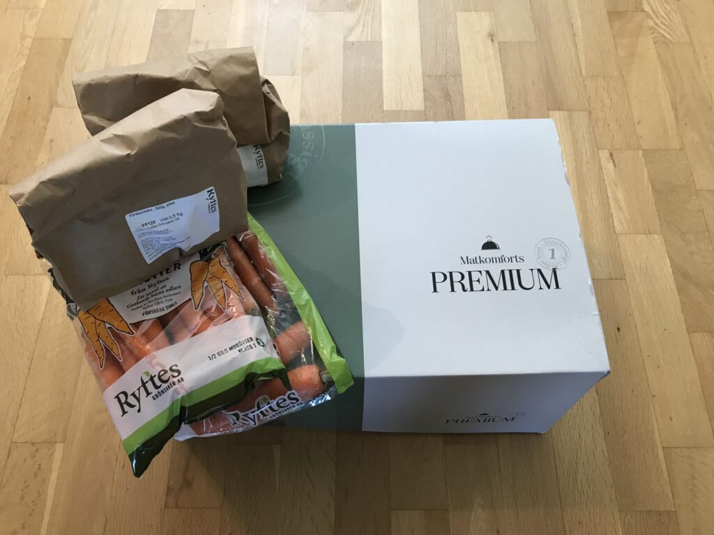Fördelar och nackdelar med matkasse, i detta fall Matkomfort Premium.